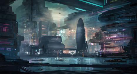 Commission: Homeworld Concept by VincentiusMatthew