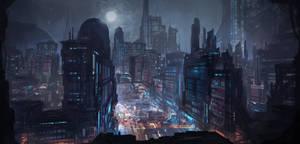Commission: Metropolis Concept