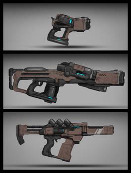 Commission: Plasma Type_Weapon Design