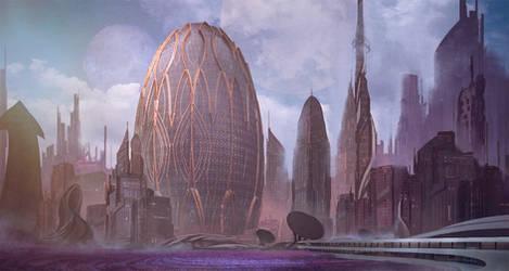 Commission: Janya Homeworld Concept by VincentiusMatthew