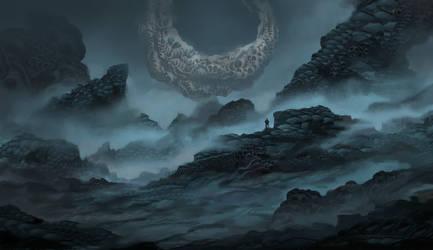 Alienworld Concept by VincentiusMatthew