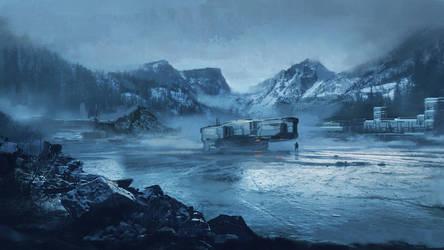 Commission: Baikal by VincentiusMatthew