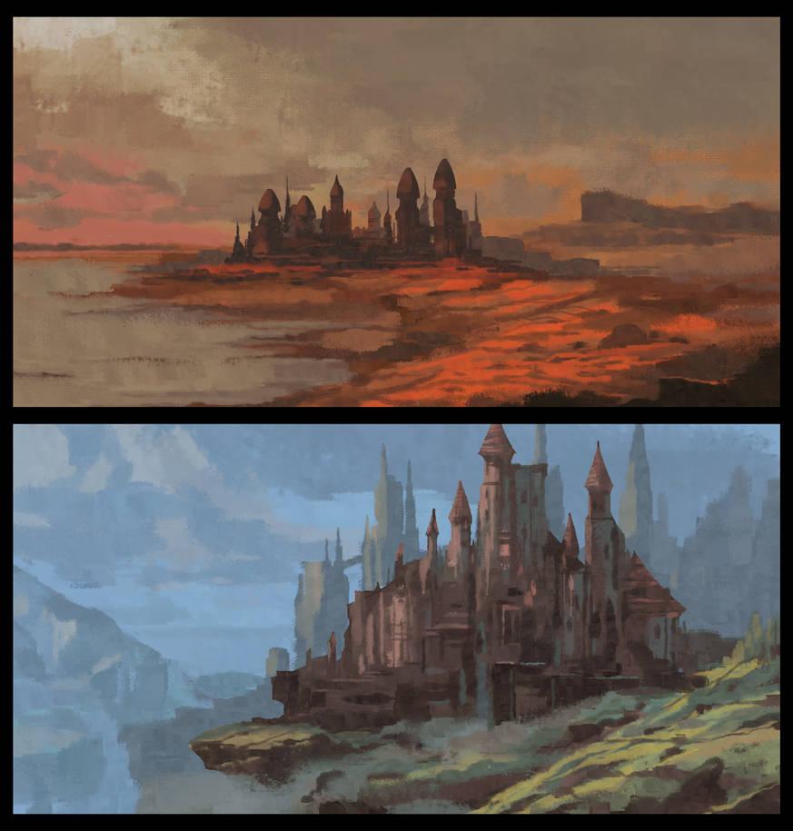 Castles by VincentiusMatthew