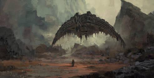 Alienscape by VincentiusMatthew