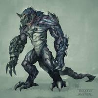 Commission: Creature Design_Makara Ravager by VincentiusMatthew