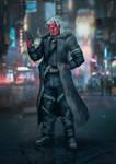 Commission: Shadowrun Fanart_Mordecai