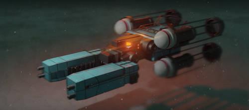 Cargo Speeder by VincentiusMatthew