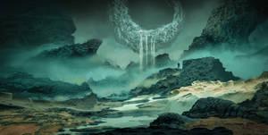 Surreal Alienworld Concept