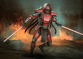 Commission: Sith Pureblood Lord Malrov