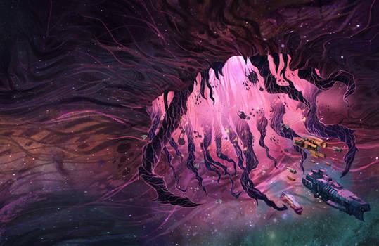 Commission: Last Fleet Cover Art