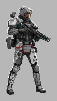 Commission: Assault Troop Concept