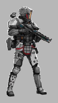 Commission: Assault Troop Concept