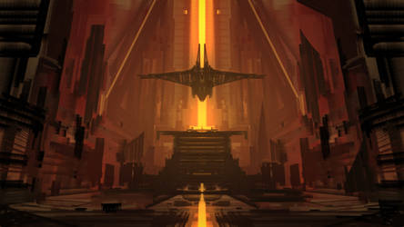 Ancient Throne Speedpaint