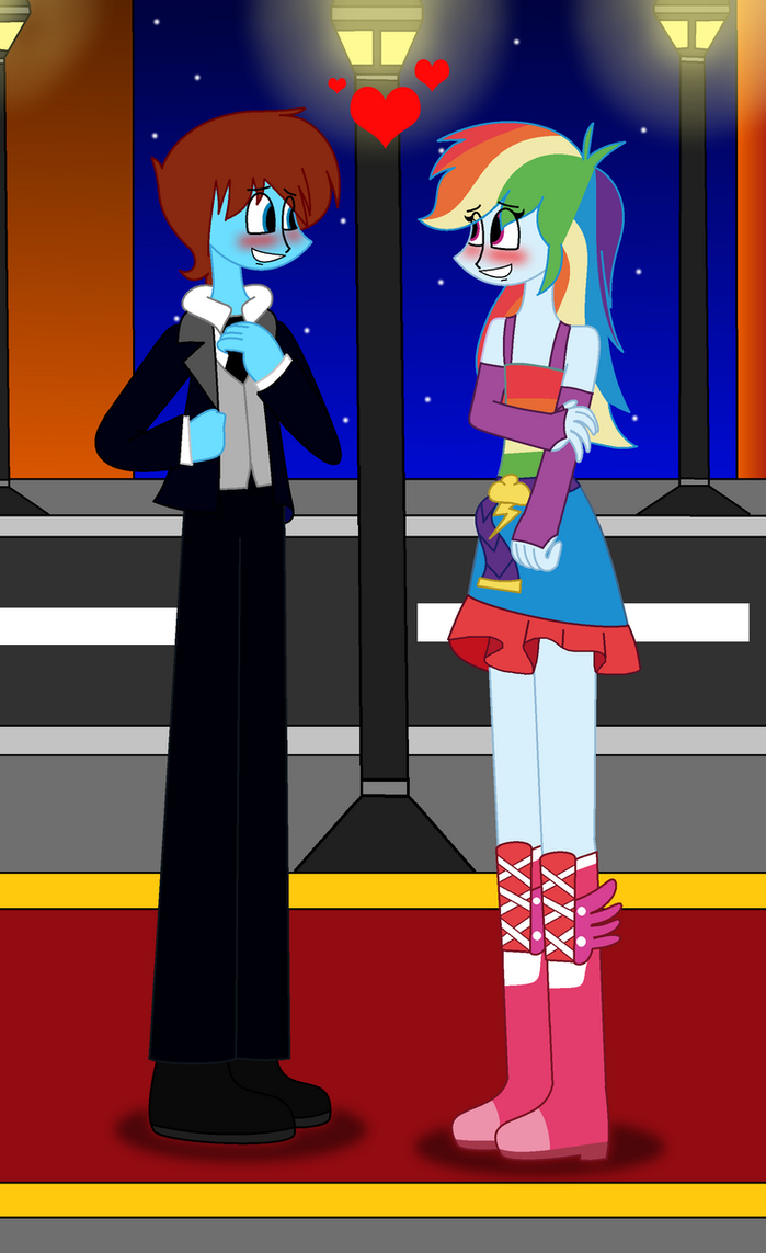 Rq Cameron X Rainbow Dash In Prom Clothes By Lovesdrawing721 On Deviantart