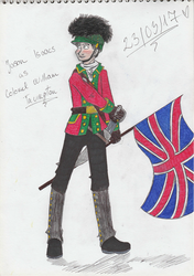 A british soldier by lovesdrawing721