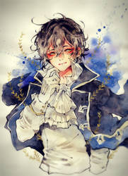 Gilbert Nightray by heri-umu