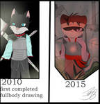 from the begining, 5 year comparison