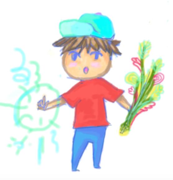 Magical Child by GoldenSaxDiamond