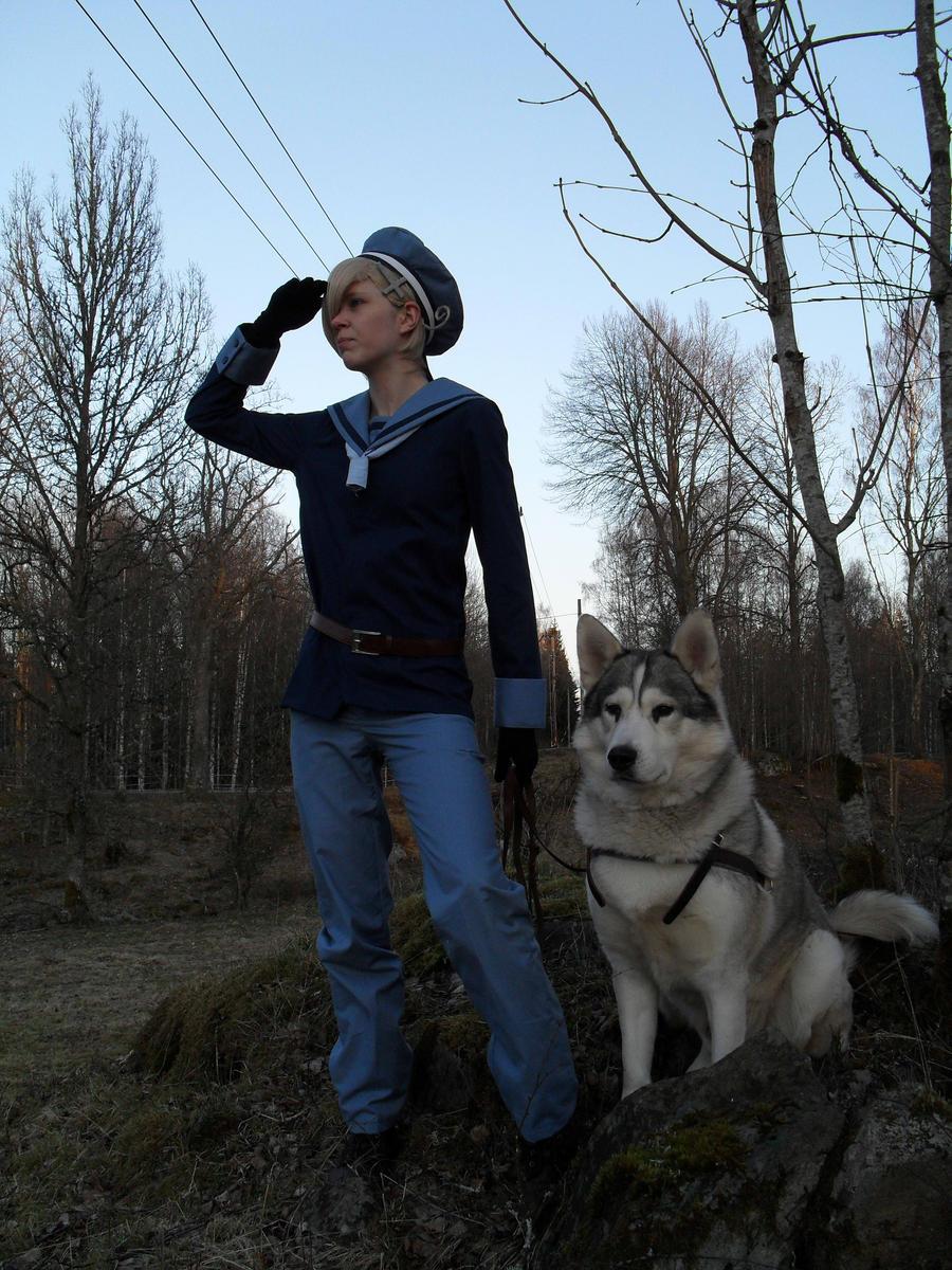 Heatlia - Norway's wolf by HappyManga