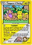 Ooyama-style card collab with pikachupokemon123