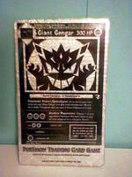 Giant Gengar Monochrome Holo Jumbo Card by icycatelf
