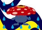 Vileplume's Rainy Day