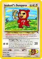Imakuni?'s Dunsparce Fake Card by icycatelf