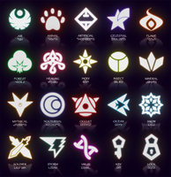 The Caper Of Knaio: Symbols (March 2014 Update) by icycatelf