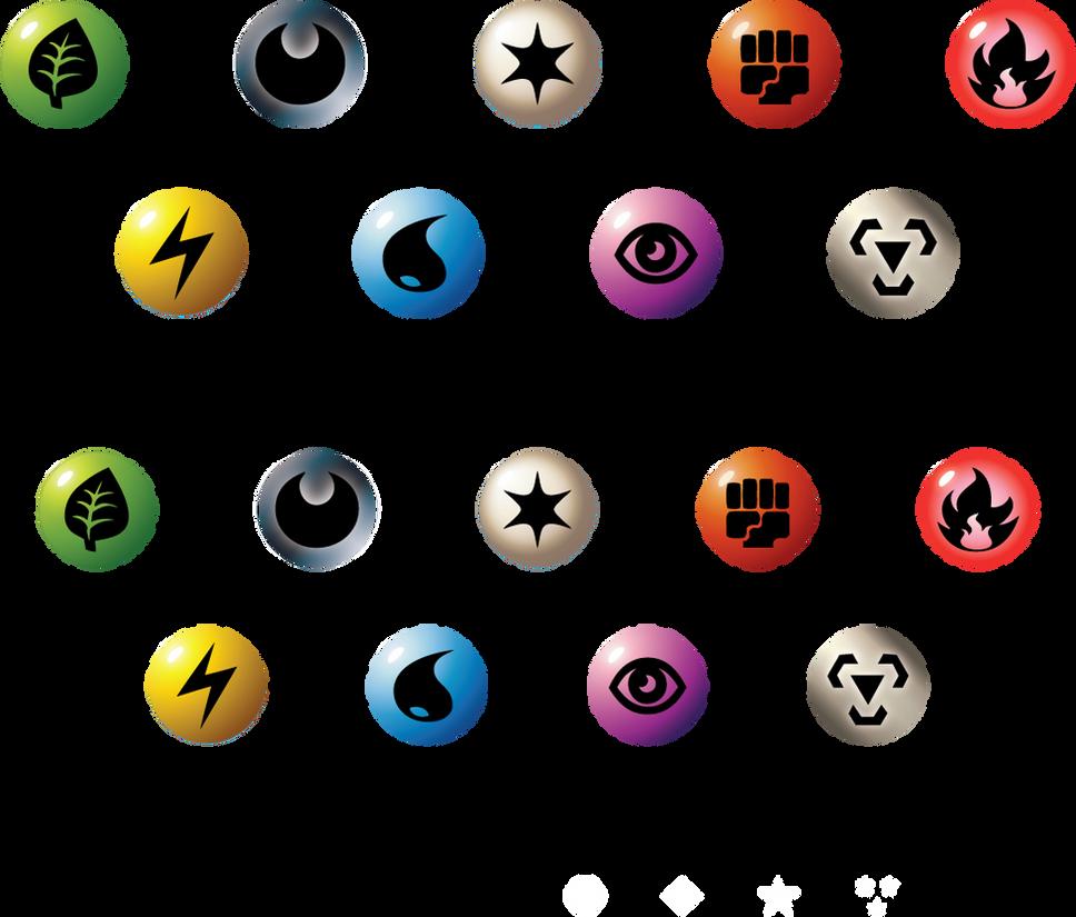 All Pokemon Type Symbols Images