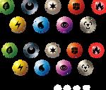Pokemon TCG Symbols: Neo (Jumbo)