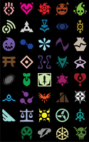 Commission Symbols by icycatelf