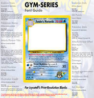 HQ Gym Font Guide by icycatelf