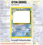 HQ Gym Font Guide