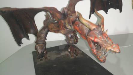 wyvern dragon scuplture