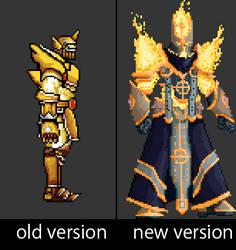 Spear Guardian boss redesign #jp_metroidvania