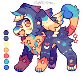 + starry mufflow adopt + by MellowKun