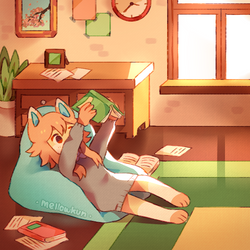 + its book time + by MellowKun