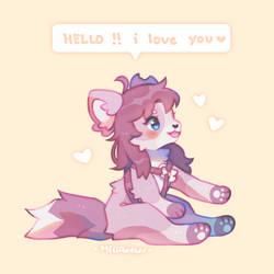i think yr cutee by MellowKun