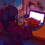 ur laptop is warm, hooman