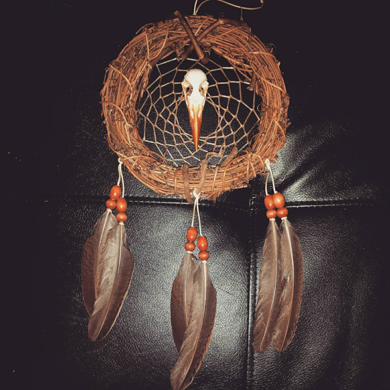 Indian Dream Catchers For Sale kingfisher birds nest dreamcatcher for sale by inkednativedesigns 1