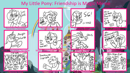 My Little Pony Controversy Meme By Deecat98 by FuzzyWhatzit