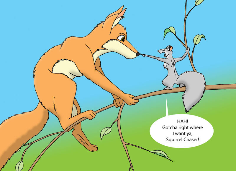 Squirrel's Revenge by Zephandolf
