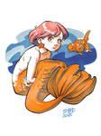 Smol Mermaid