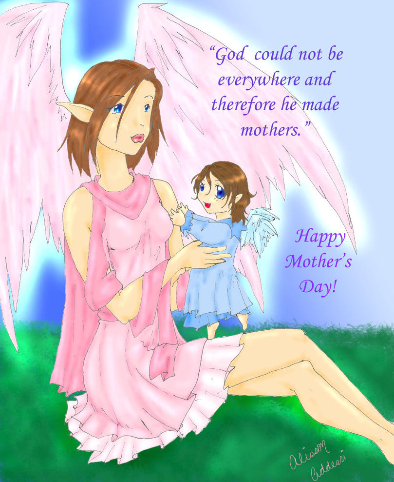 Happy Mothers Day by Cahaya