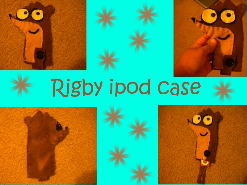 Rigby ipod case by LoraxFan