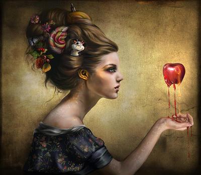 the apple by d-liliane