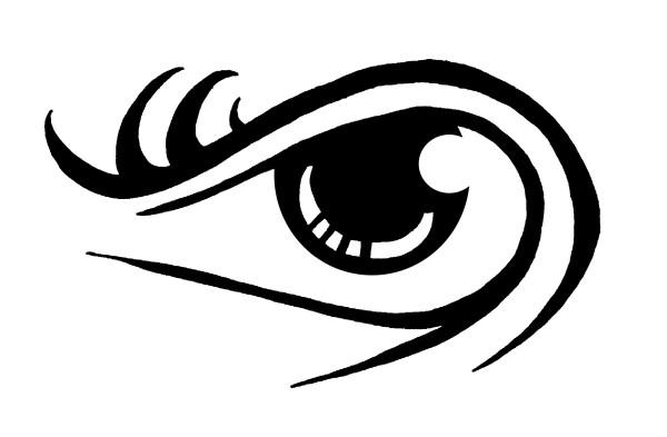 eye tattoo by morphindel