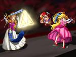 Zelda vs Princess Peach