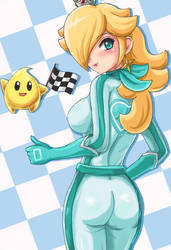 Rosalina the Racing Queen edit by SigurdHosenfeld