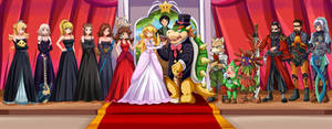 Wedding day-Bowser's dream